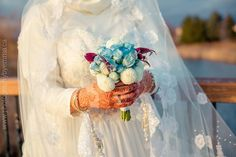 Waed's bouquet was especially made by her bestfriend Noura how cute and unique is it?  Waed  Sajjad  #photographybyemma #photography #toronto #wedding #weddingphotography #weddingday #bride #mehndi #henna #bouquet #torontoweddingphotographer #torontowedding by photosbyemmah