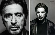 Al Pacino - I would have a long discussion about he went from his trying any role from 'Dog Day Afternoon' to 'Serpico' to 'The Godfather' and truly owning the part ... and why he's been phoning it in and playing the same character with the growling voice since 'Heat', 'The Devil's Own' and especially 'The Scent of a Woman' ... and that he's still better than that ...