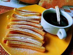 Resep Churros Mini Roti Canai Recipe, Easy Churros Recipe, Simply Recipes, Indonesian Food, Dessert Recipes, Desserts, Easy Meals, Food And Drink, Cooking Recipes