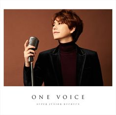 One Voice is the first Japanese album by Super Junior's Kyuhyun. It was set to be released on February 2017 through Avex Trax. Super Junior, Leeteuk, Heechul, Cho Kyuhyun, Last Man Standing, Album Songs, Jaejoong, Korean Artist, Cute Baby Boy