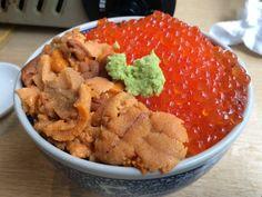 北海番屋 - うにいくら丼(2400円)