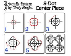 8-Dot Center Piece - Doodle Worksheet | Flickr - Photo Sharing!