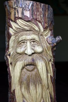wood spirits carvings | Adventures of SCJack: Wooden Eye and The Eyes Have It!