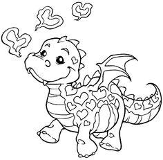 Dragon color page fantasy medieval coloring pages Dragon Dino