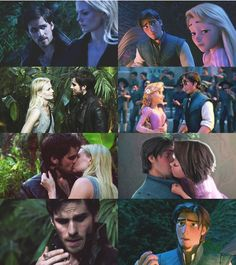 Emma and Hook. Wow, this is actually crazy how close this is to Tangled !