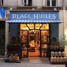 I love and miss French shops!