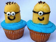 25 Cute Cupcakes for Kids haha. so easy #minion #Cupcakes