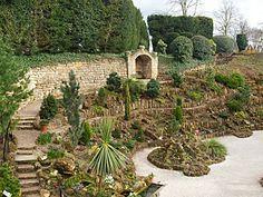 Rock Garden, Brodsworth Hall, England.