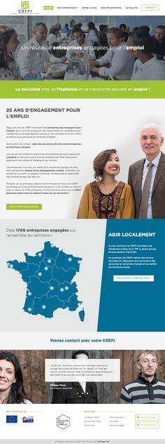#CREPI #webdesign #website #agence #web #bordeaux #design #association #job #work #recrutement #france