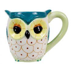 Green Owl Mug from Patinastores.com