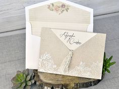 invitatii nunta 39302 crem Decorative Boxes, Gift Wrapping, Ideas, Gifts, Marriage Invitation Card, Weddings, Invitations, Introduction Letter, The Originals