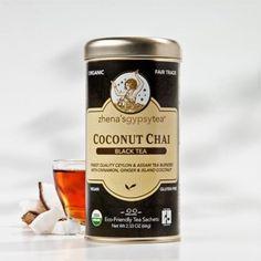 Beneficial Sips | VIVAIODAYS Zhena's Gypsy Tea ORGANIC COCONUT BLACK CHAI $6.99