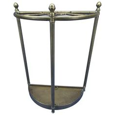 For Sale on - Italian midcentury brass umbrella stand. Corner House, Cool Furniture, Mid-century Modern, Umbrella Stands, Vintage Umbrella, Mid Century, Brass, Antiques, Home Decor