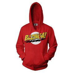 Hoodie honoring the show Big Bang Theory