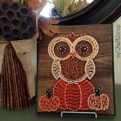 Image result for fall string art
