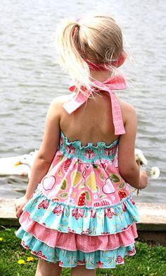 NEW Girls Kids Clothing Purple Chevron Ruffle Butt Romper sizes 18Months 2T
