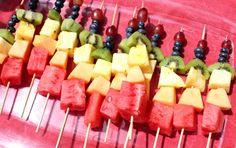 Healthy idea for rainbow party