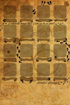Marauder´s map Iphone 4 wallpaper