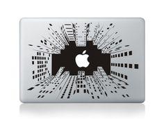 skyscraperMacbook decal Macbook sticker Mac decal by Decaldazzle, $10.99