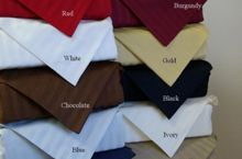 Egyptian Cotton Superior Duvet Sets that are truly worthy of a classy elegant pieces set. Cotton Sheets, Egyptian Cotton, Duvet Sets, 3 Piece, Classy, Cards Against Humanity, Elegant, Tableware, Red
