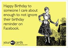 when someone wishes me birthday!