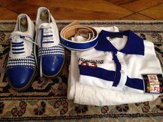 Alcuni abbinamenti di un Amico Raimondi prima di giocare... golf shoes #raimondigolfshoes #raimondi #golf #originali #madeinitaly #shoes #ivanostyle #golfshoes #handmadeinitaly