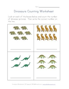 Printables Counting Practice Worksheets view and print your dinosaur counting worksheet summer camp practice worksheet