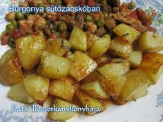 Potato Dishes, Potato Recipes, Meat Recipes, Cooking Recipes, Pasta, Light Recipes, Potato Salad, Food To Make, Delish