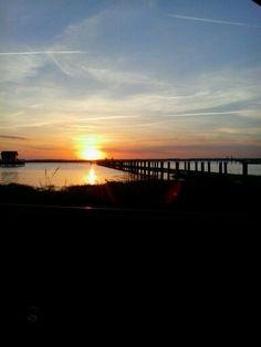 Bayside Sunset  Chinconteague Island