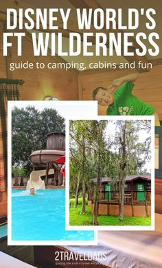 Disney's Fort Wilderness Resort and Campground is the most fun and unusual accommodations at Disney World. See what to do, where to dine and camping options at Disney World. Disney World Florida, Walt Disney World Vacations, Fort Wilderness Resort, Disney Vacation Planning, Disneyland California, Disney World Tips And Tricks, Around The Worlds, Camping, Outdoor Structures