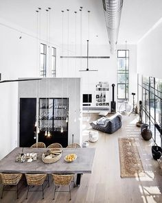 347 Best Interesting Interiors Images On Pinterest In 2019 - Arsenalsgatan-4-a-king-height-apartment