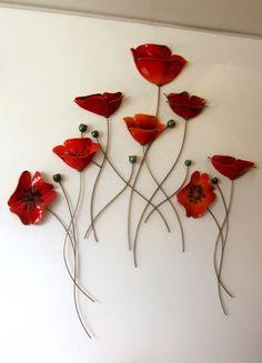 oikia kai diakosmisi – Famous Last Words Ceramic Wall Art, Glass Wall Art, Fused Glass Art, Metal Wall Art, Resin Art, Clay Art, Unique Wall Art, Ceramic Flowers, Rock Crafts
