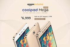#CoolpadMega 2.5D: Price in #Amazon, #Flipkart, #Snapdeal, Ebay- Get the best price at #FabPromoCodes #Deals