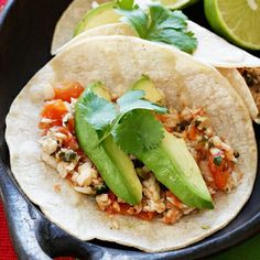 Cilantro Lime Tilapia Tacos.  I made these last night AH-mazing.