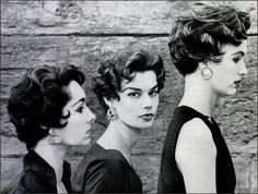 Italian Cuts, 1953. ......Mom tried this style and she was strikingly gorgeous in it.