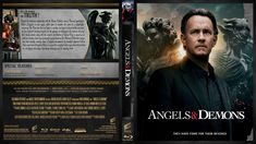 Angel & Demons (2009) Blu-ray Custom Cover Angels And Demons, Revenge, Cover Design, Amp, Book Cover Design, Cover Art