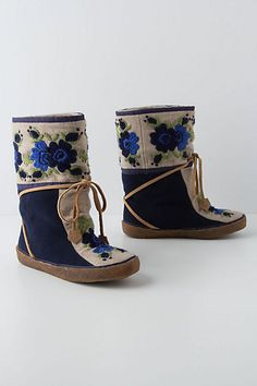 Hallam Moccasin boots, Anthropologie