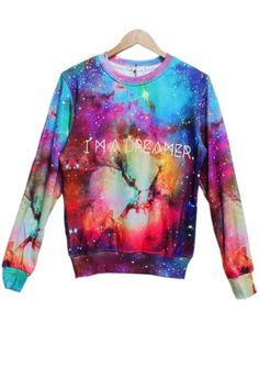 Dizzying Galaxy  Sweatshirt