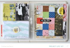 April Project Life | We Are Here by Catherine Davis at @Studio_Calico