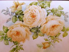 Roses (again) - Thinking about values and varied cuts. | ARTchat - Porcelain Art Plus (formerly Chatty Teachers & Artists)