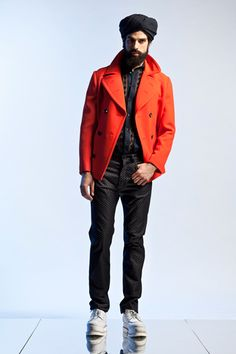 Jean Paul Gaultier Spring 2013 Menswear Collection Slideshow on Style.com