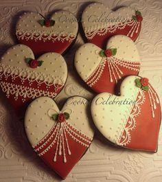 Red and White Valentines   Cookie Connection: