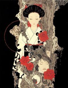 takato yamamoto: new ukiyoe.  Heisei Aesthetic