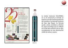 Revista Saludable #México. #ContornodeOjos
