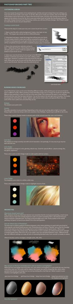 Photoshop Brushes Part Two by ceruleanvii.deviantart.com on @deviantART