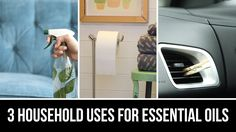 3 Household Uses for Essential Oils