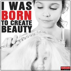 Born to create beauty! #hairstylists