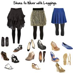 Guide to what shoes to wear with different legging lengths