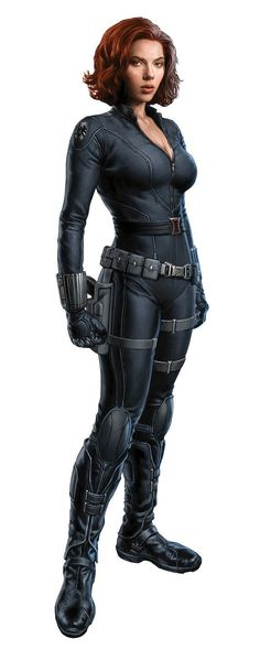 Black Widow from the classified data file of S.H.I.E.L.D.