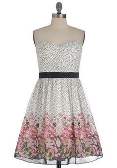 I Sup-posy You're Right Dress, #ModCloth